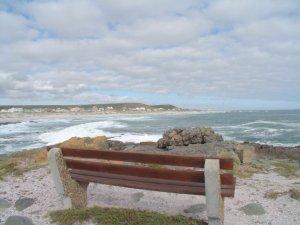 Yzerfontein bench