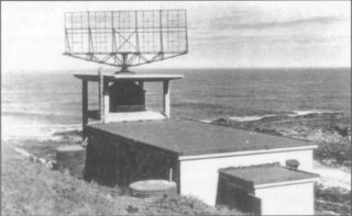 COL Radar Station at Yzerfontein